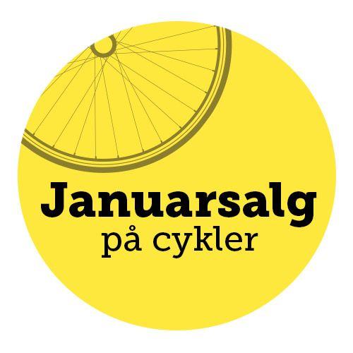 Januarsalg på cykler
