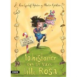 Image of 10 historier om at være lille Rosa - Inkl. CD - Indbundet