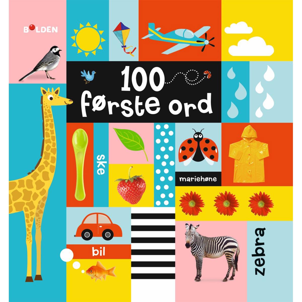 Image of   100 første ord - Indbundet
