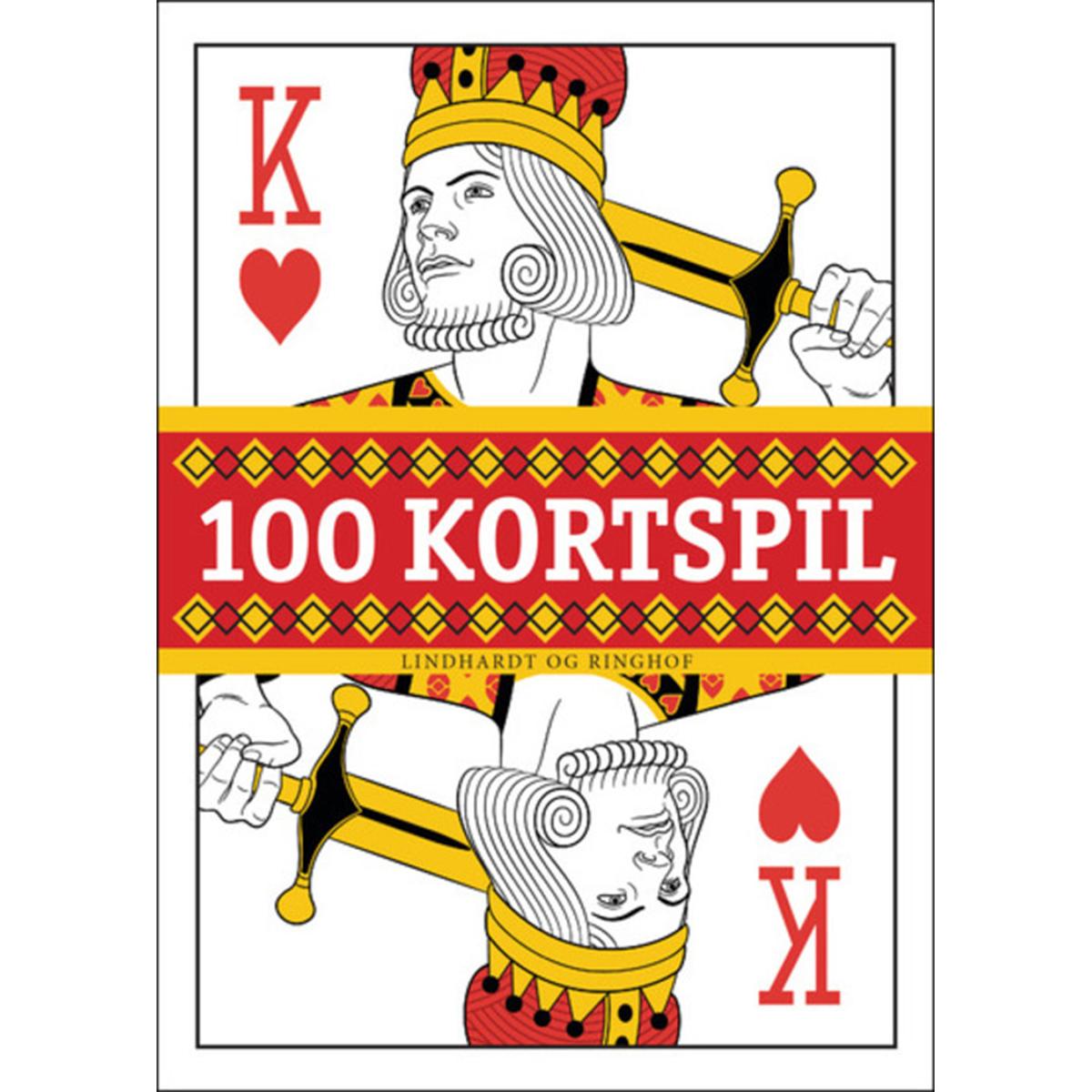 Image of   100 kortspil - Hardback