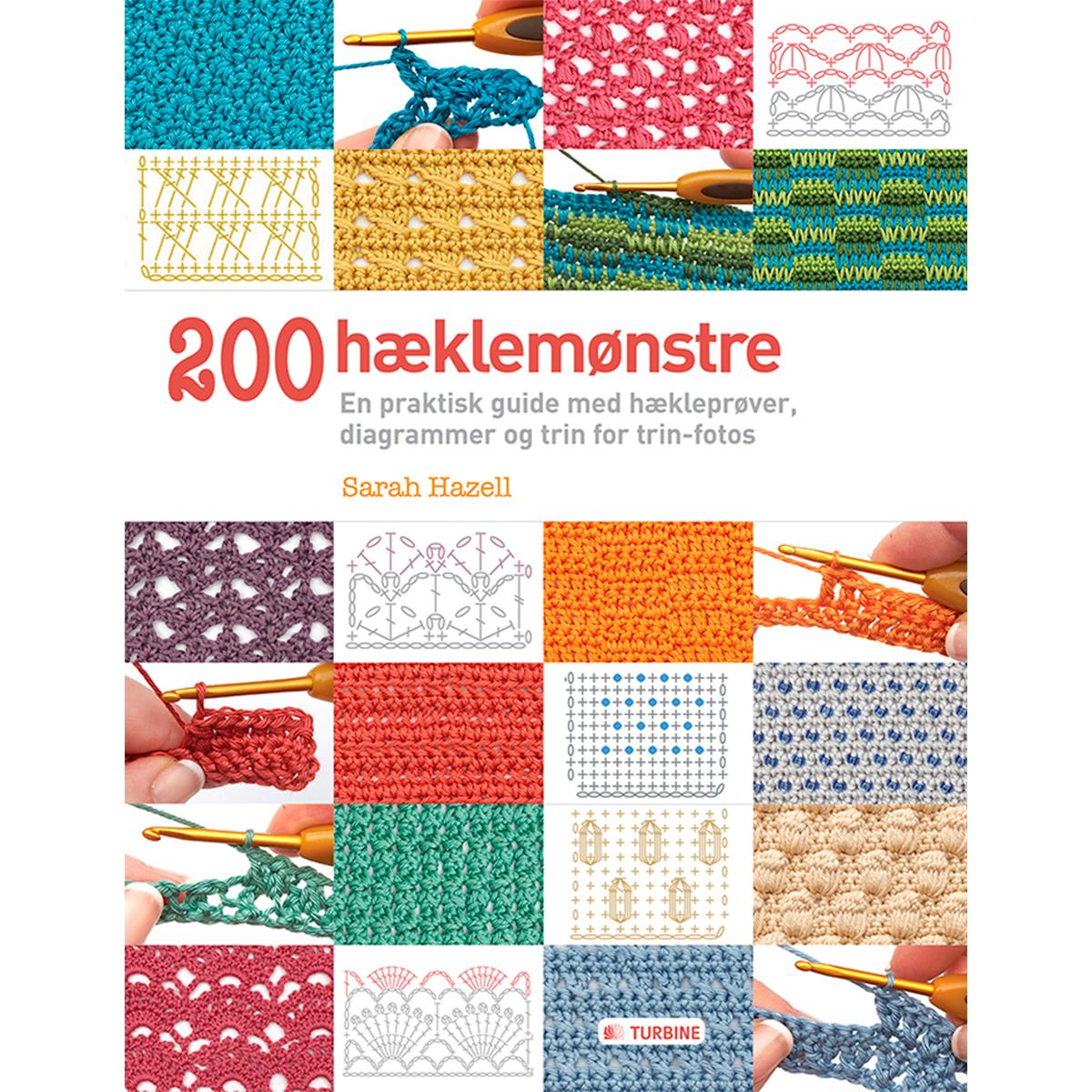 Image of   200 hæklemønstre - Hæftet