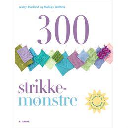 Image of 300 strikkemønstre - Paperback