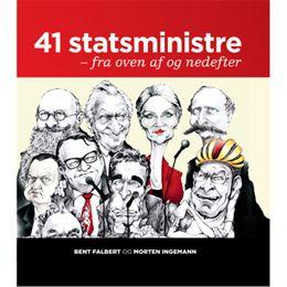 Image of 41 statsministre - fra oven af og nedefter - Hardback