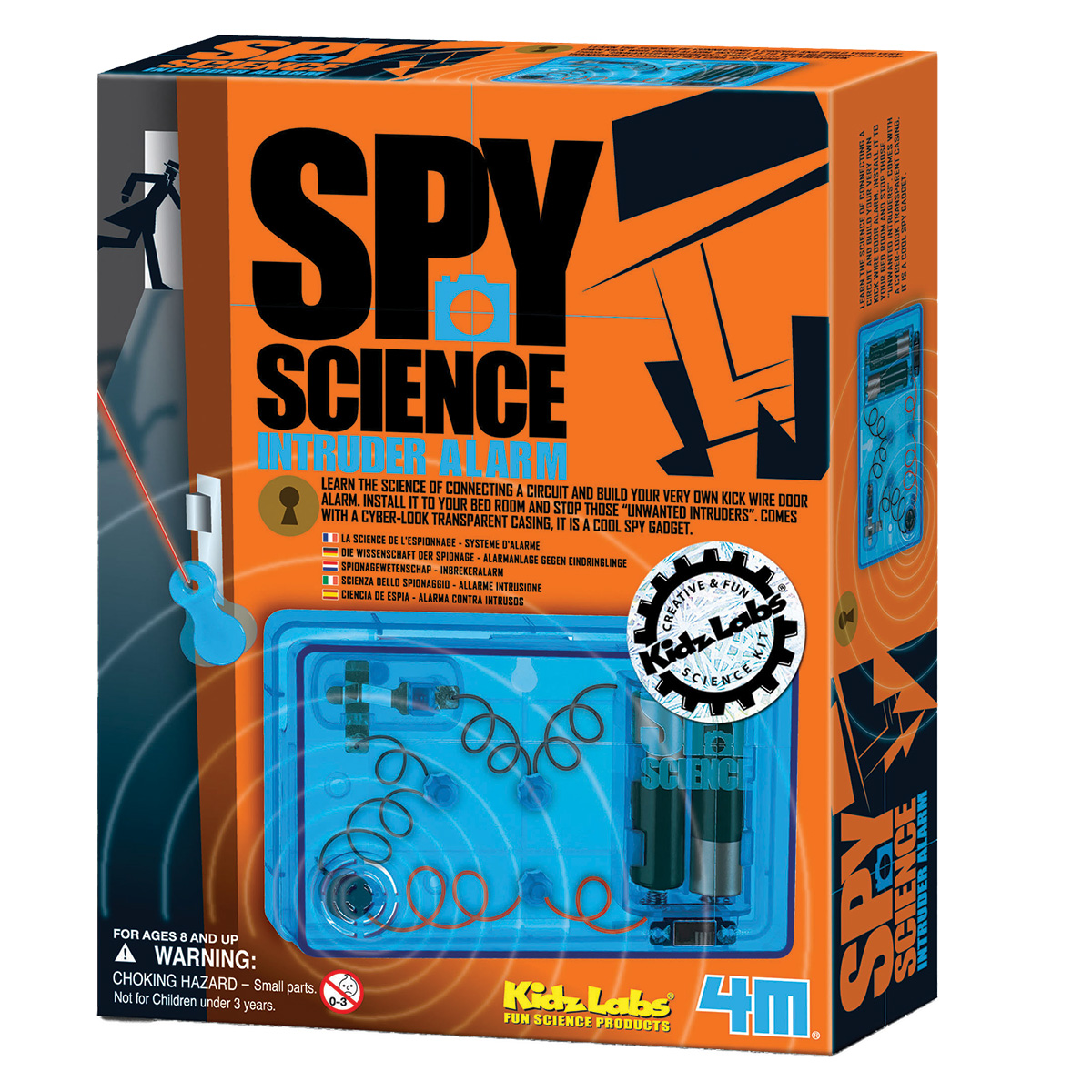 Image of   4M indbrudsalarm - Spy Science