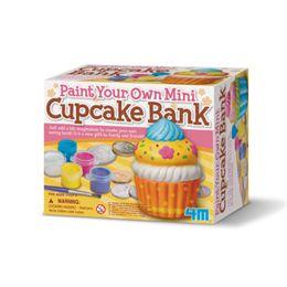 Image of 4M malesæt - Mal din egen cupcake-sparebøsse