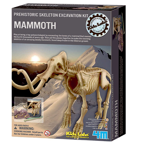 Image of   4M mammut-skelet