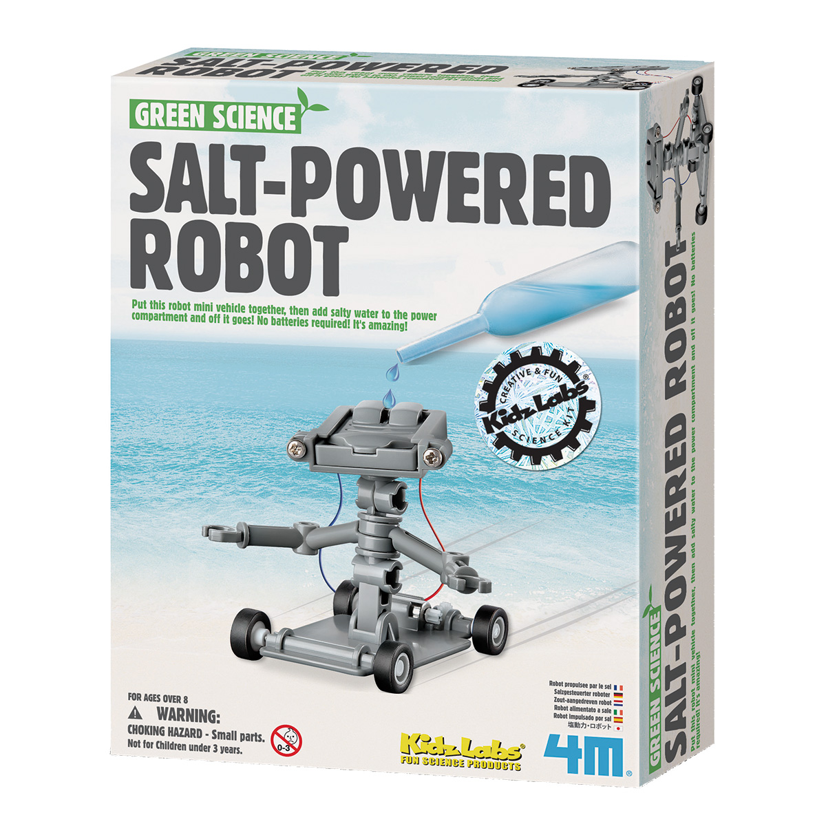 Image of   4M saltdrevet robot - Green Science