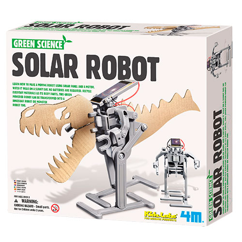 Image of   4M soldrevet robot - Green Science
