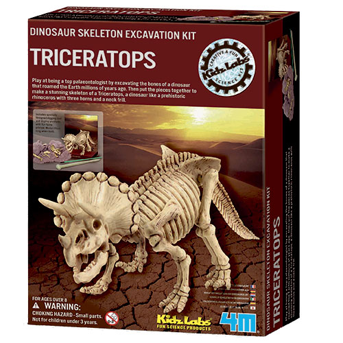 Image of   4M triceratops-skelet