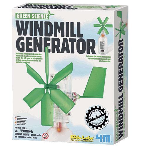 Image of   4M vindmølle-generator