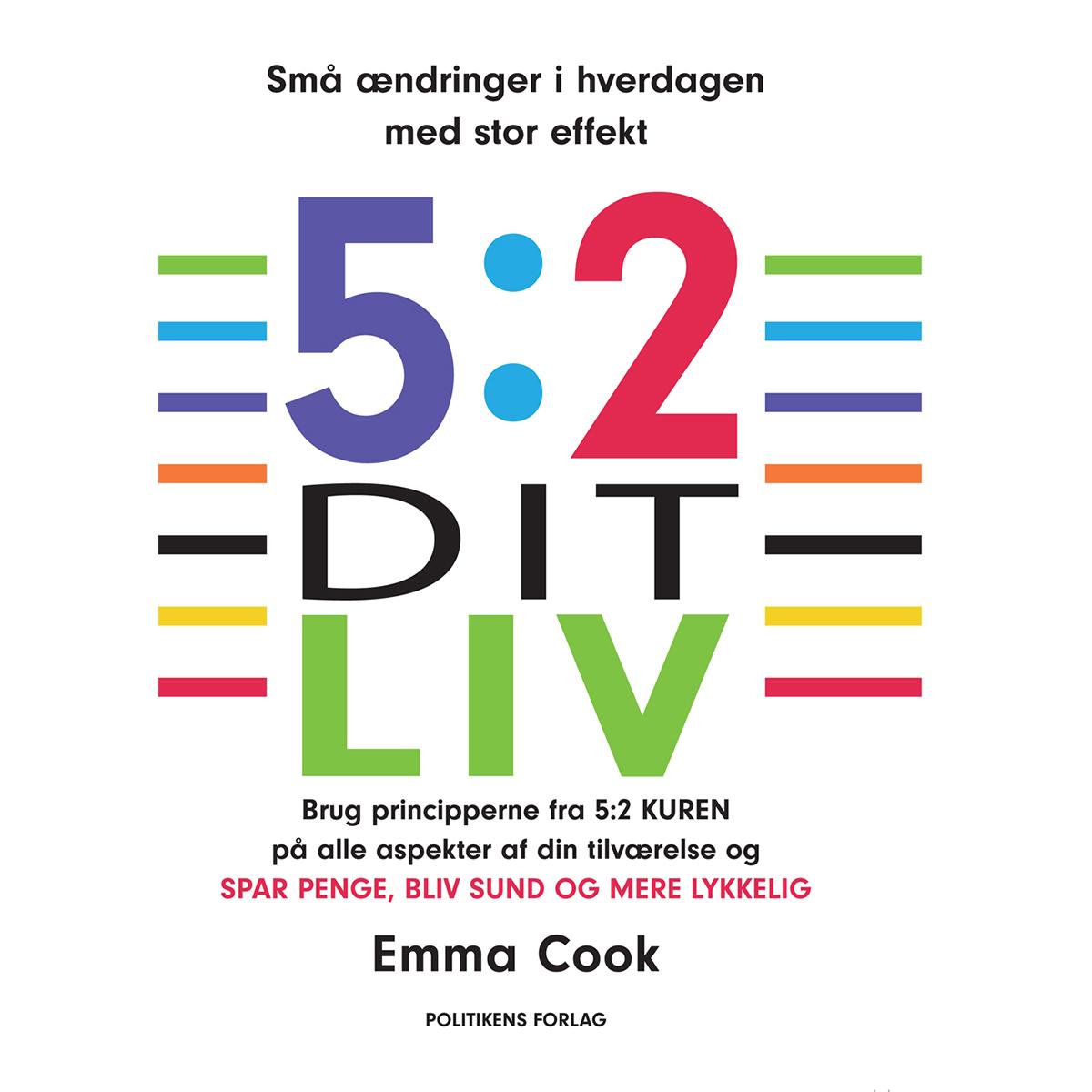 Image of   5:2 dit liv - Hæftet
