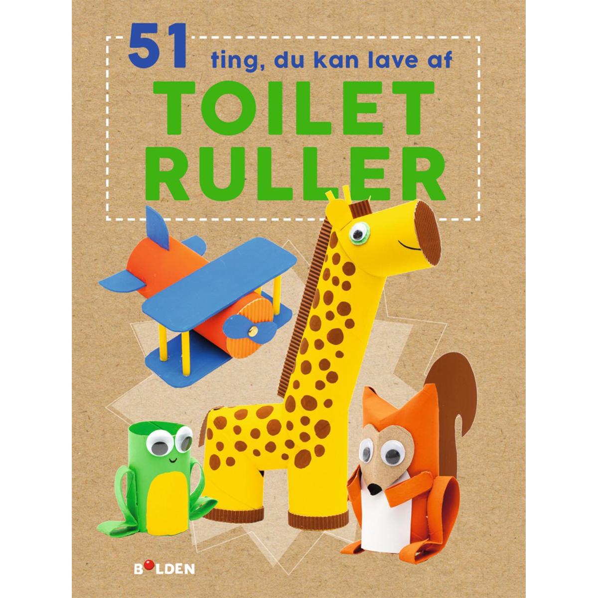 Image of   51 ting du kan lave med toiletruller - Paperback