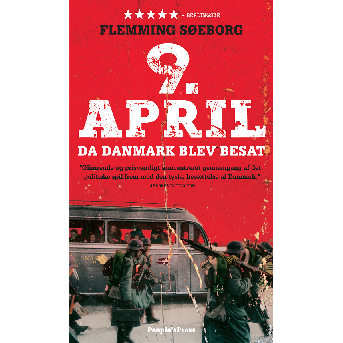 Image of   9. april - Da Danmark blev besat - Indbundet
