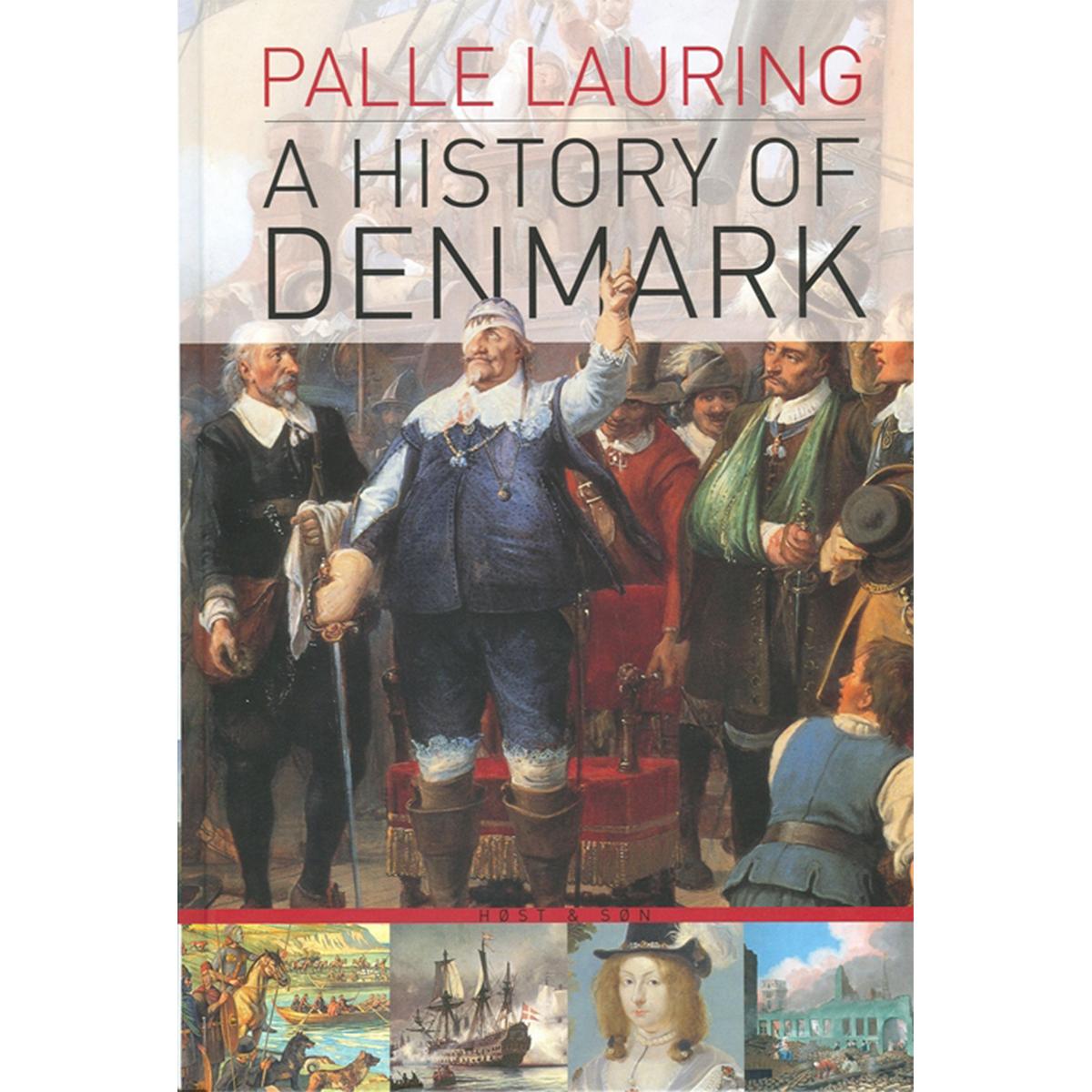 Image of   A History of Denmark - Indbundet
