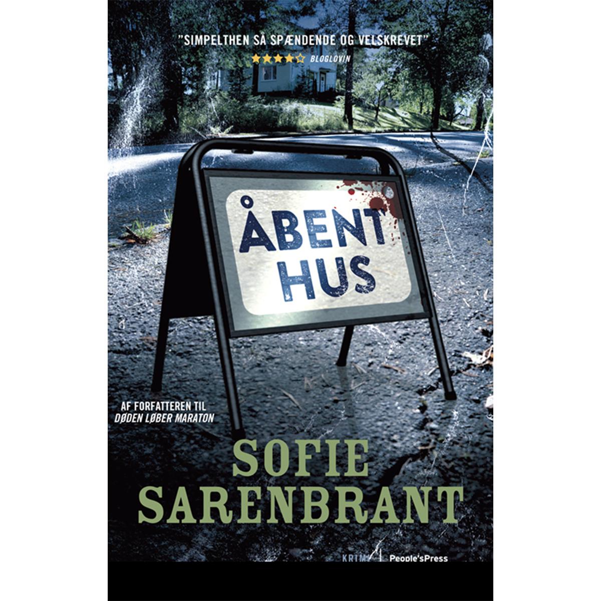 Image of   Åbent hus - Emma Sköld 3 - Paperback