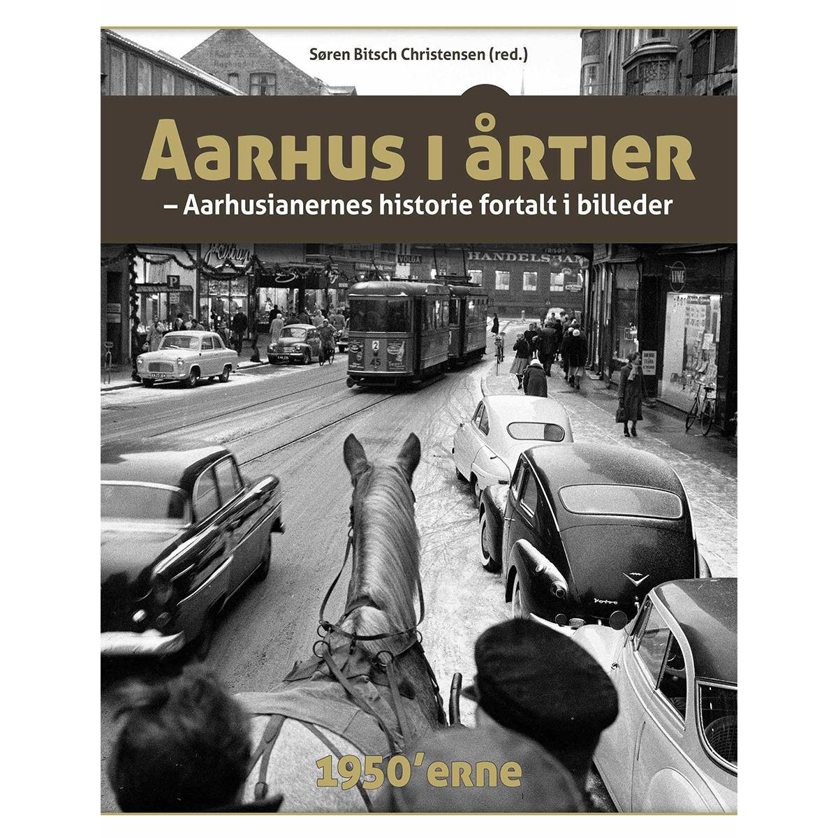 Image of   Aarhus i årtier - 50erne - Hardback
