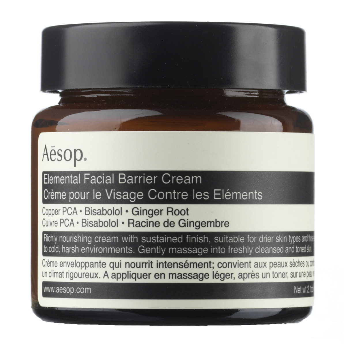 Image of   Aesop Elemental Facial Barrier Cream - 60 ml