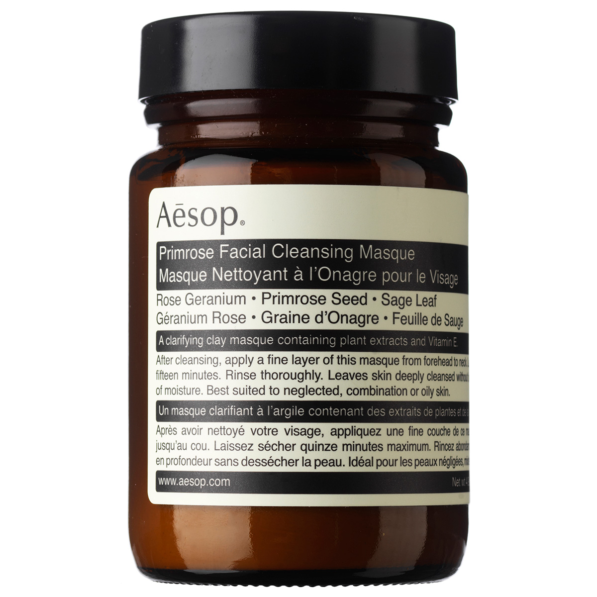 Image of   Aesop Primrose Facial Cleansing Masque - 120 ml