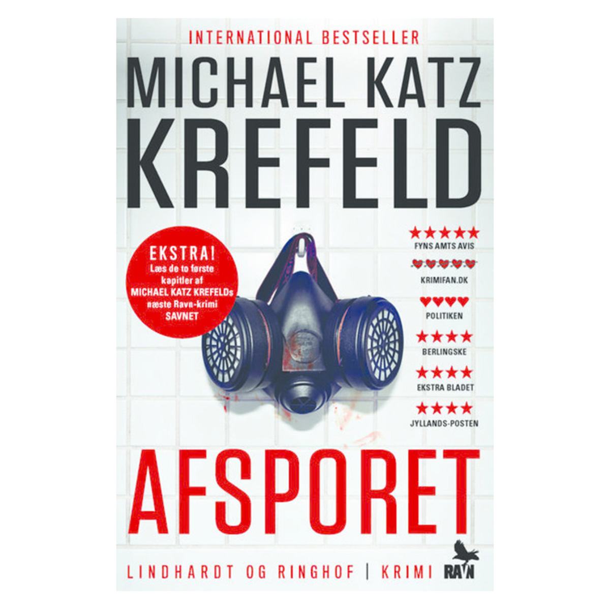 Image of   Afsporet - Ravn 1 - Paperback