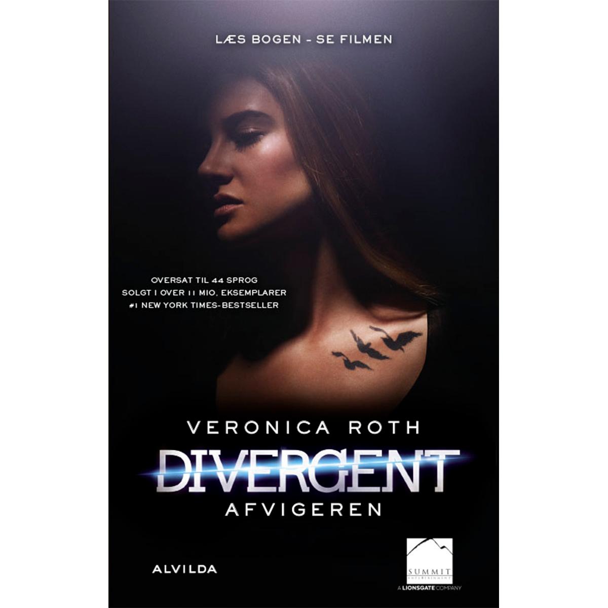 Image of   Afvigeren - Divergent 1 - Filmudgave - Indbundet
