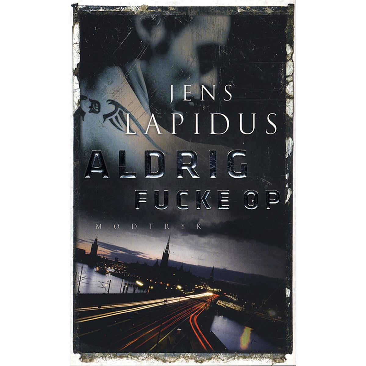 Image of   Aldrig fucke op - Stockholm Noir 2 - Paperback