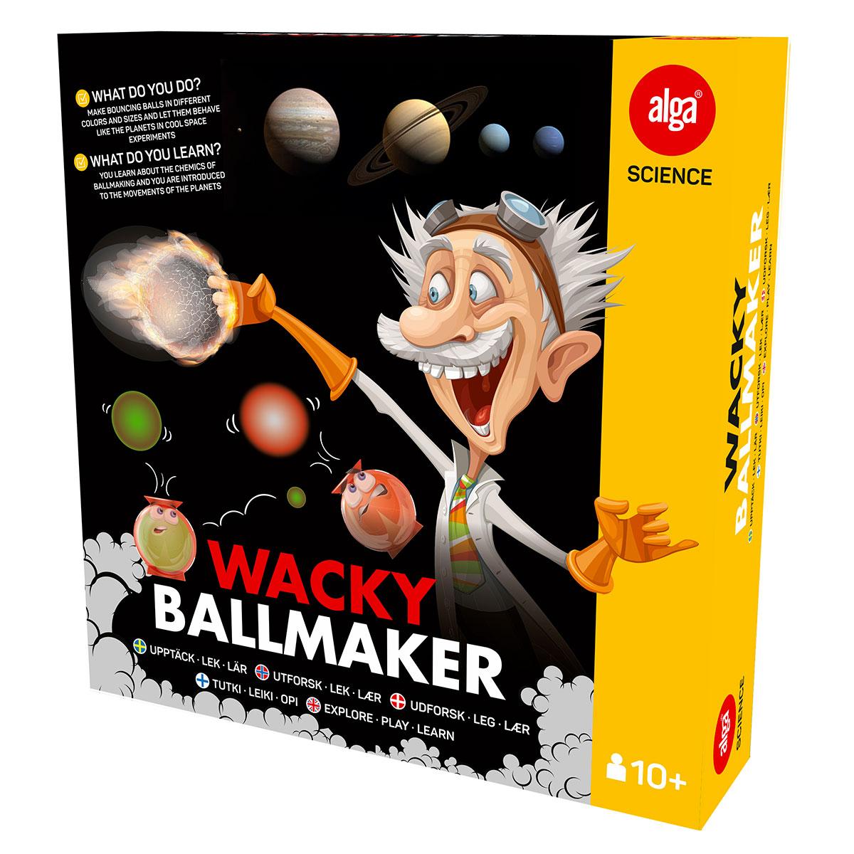 Image of   ALGA Science Wacky Ballmaker