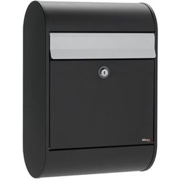 Image of Allux postkasse - 5000 - Sort/stål