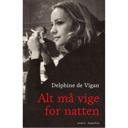 Image of   Alt må vige for natten - Paperback