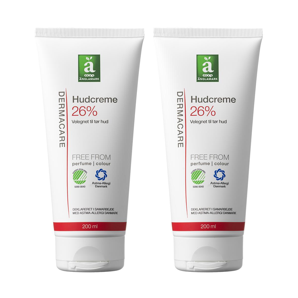 Image of   Änglamark Dermacare Hudcreme 26% - 2 x 200 ml