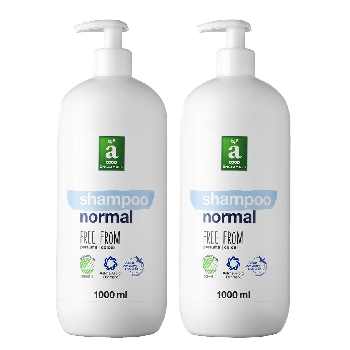 Image of   Änglamark shampoo - 2 x 1000 ml