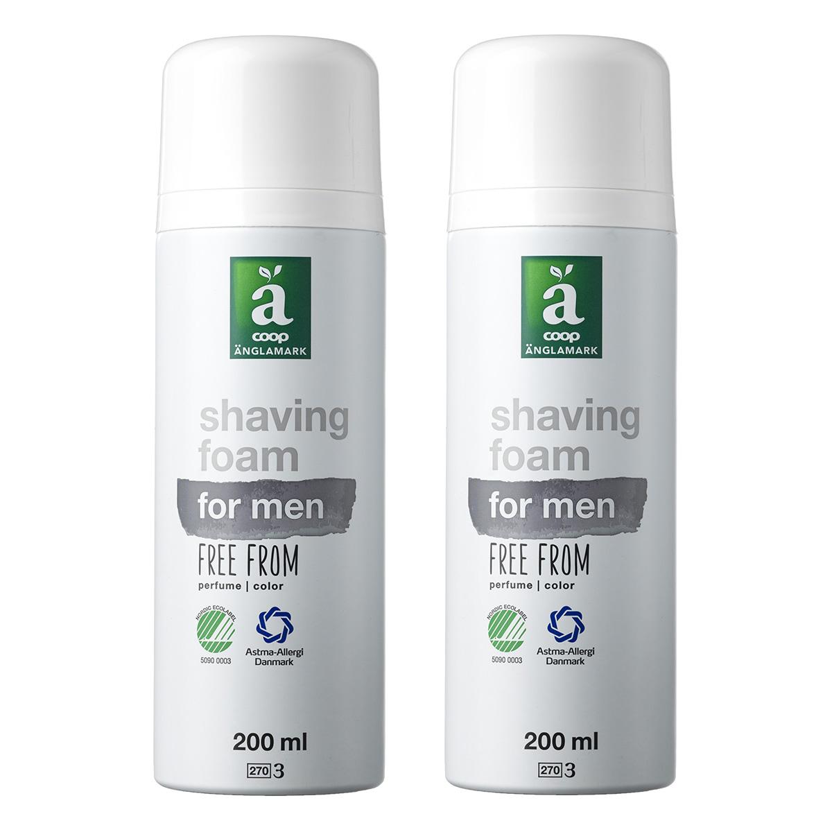 Billede af Änglamark Shaving foam for men - 2 x 200 ml