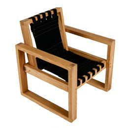 Image of   Änglamark stol - Collect Furniture Frame Chair - Small - Natur eg/sort