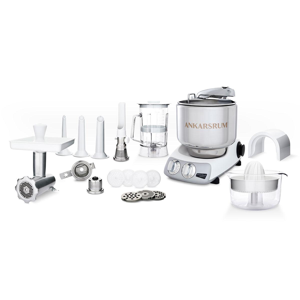 Image of   Ankarsrum køkkenmaskine 6290MWdeluxe - Mineral white