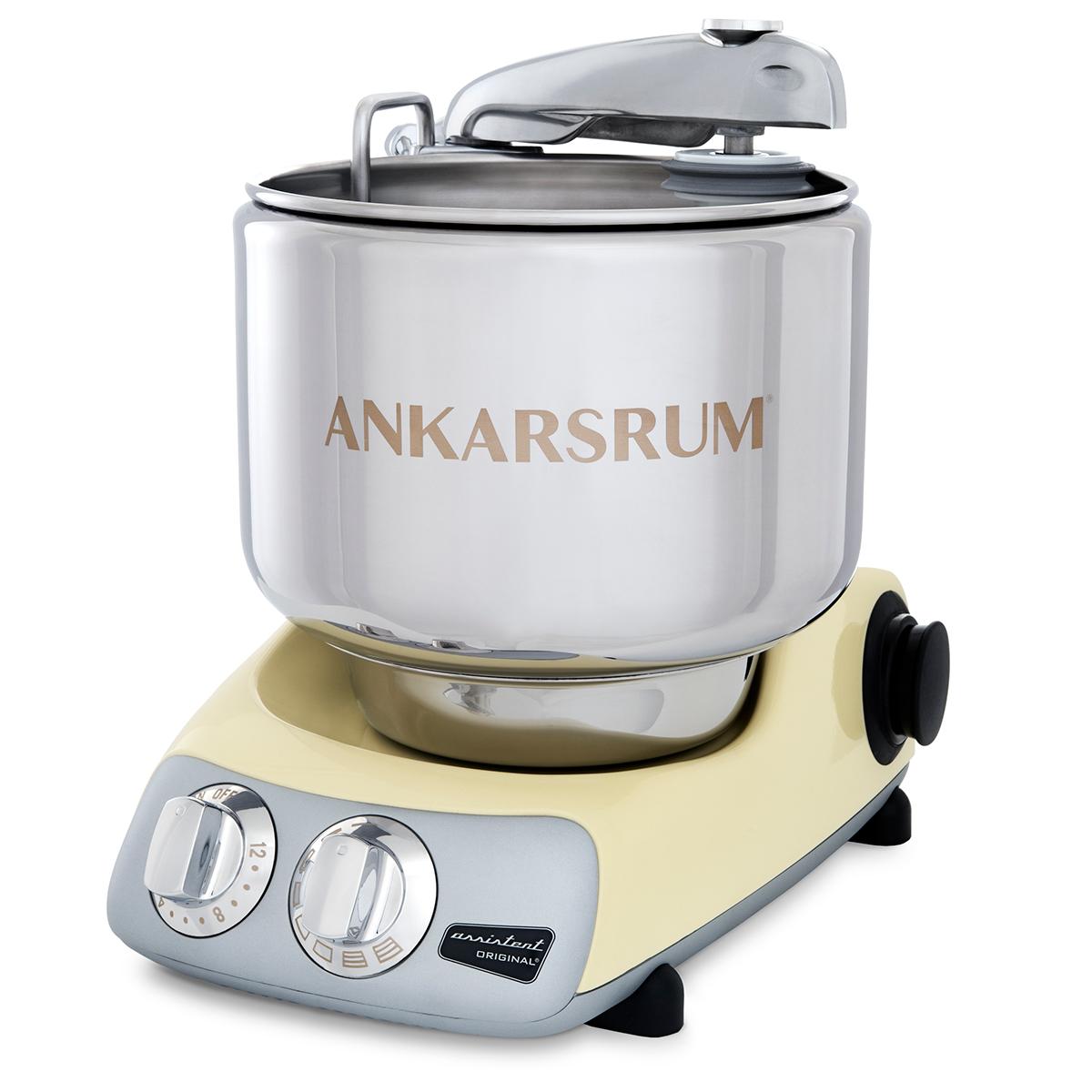 Image of   Ankarsrum køkkenmaskine Assistent Original AKM 6230 C - Cremegul