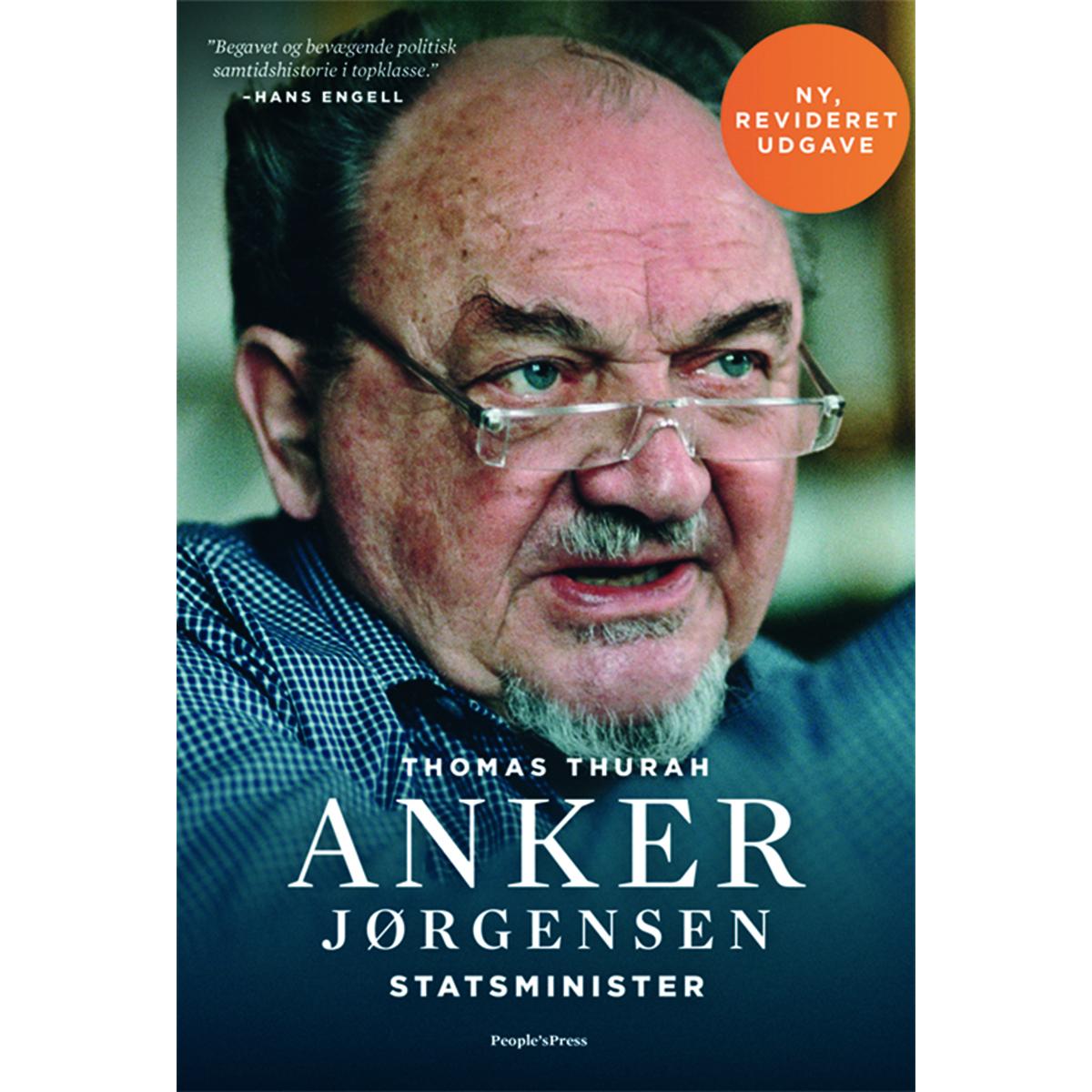 Billede af Anker Jørgensen - Statsminister - Hæftet
