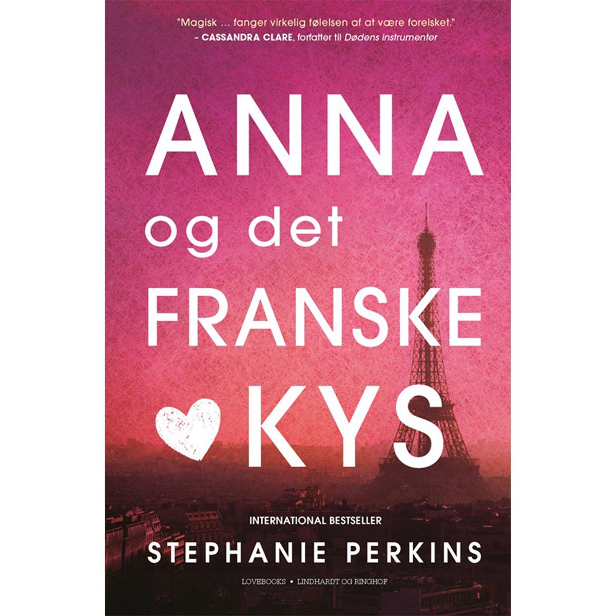 Image of   Anna og det franske kys - Paperback