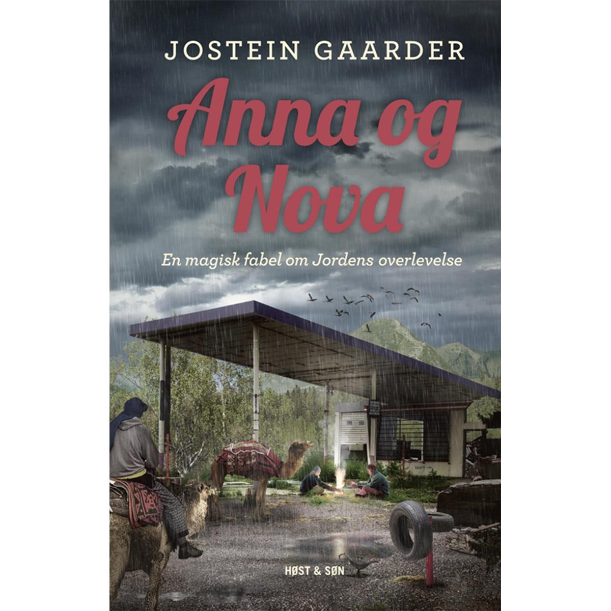 Image of   Anna og Nova - en magisk fabel om Jordens overlevelse - Indbundet