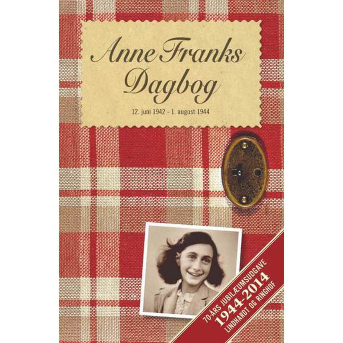 Image of   Anne Franks dagbog - Jubilæumsudgave - Indbundet
