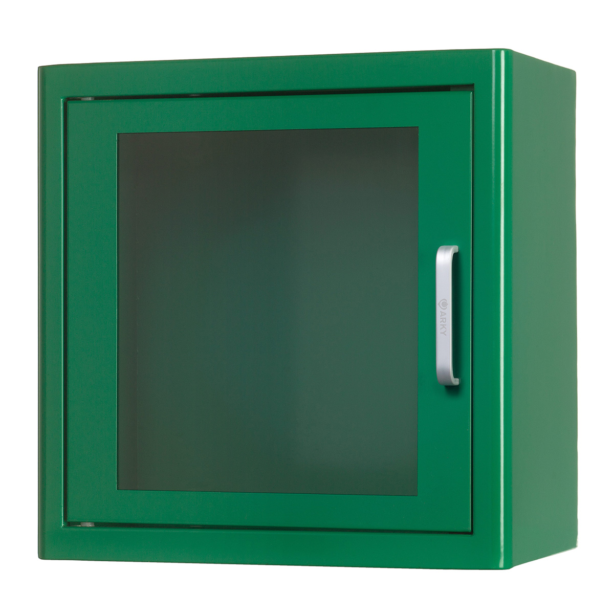 Image of   Arky indendørs væghængt skab til hjertestarter - Grøn