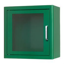Arky indendørs væghængt skab til hjertestarter - Grøn