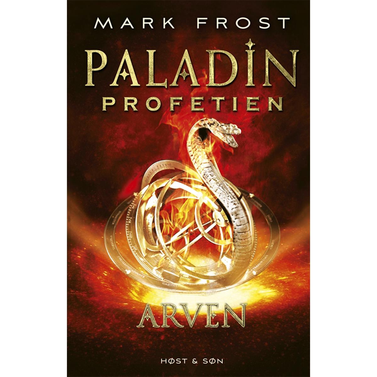 Image of   Arven - Paladin-profetien 3 - Indbundet