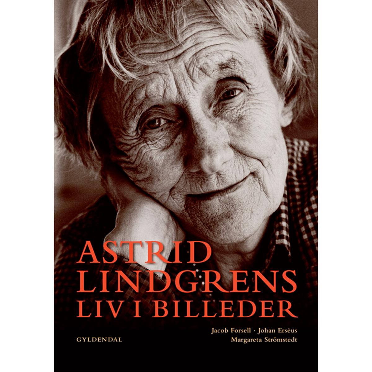 Billede af Astrid Lindgrens liv i billeder - Indbundet