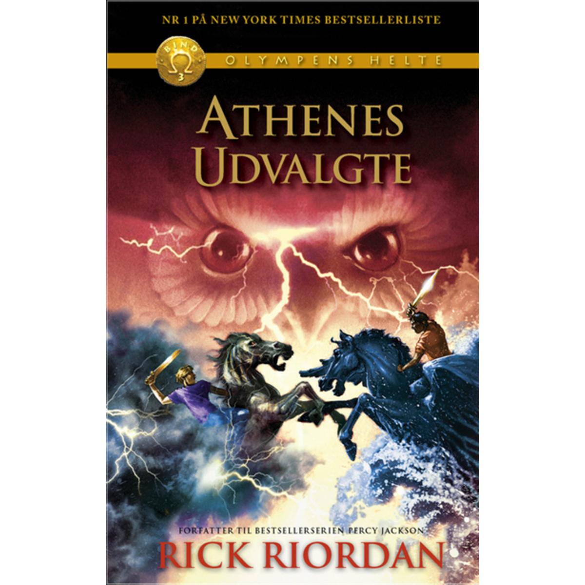 Image of   Athenes udvalgte - Olympens helte 3 - Indbundet