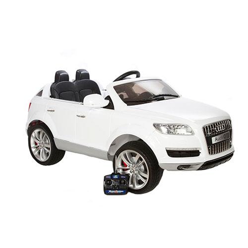 Image of   Audi elbil - Q7 - Hvid