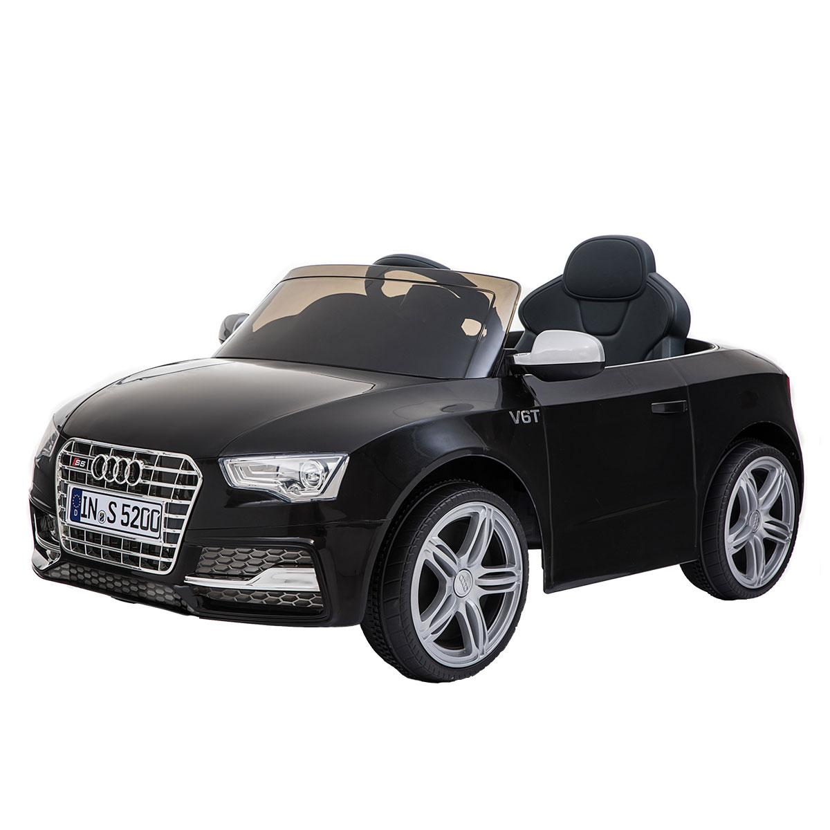 Image of   Audi elbil - S5 - Sort