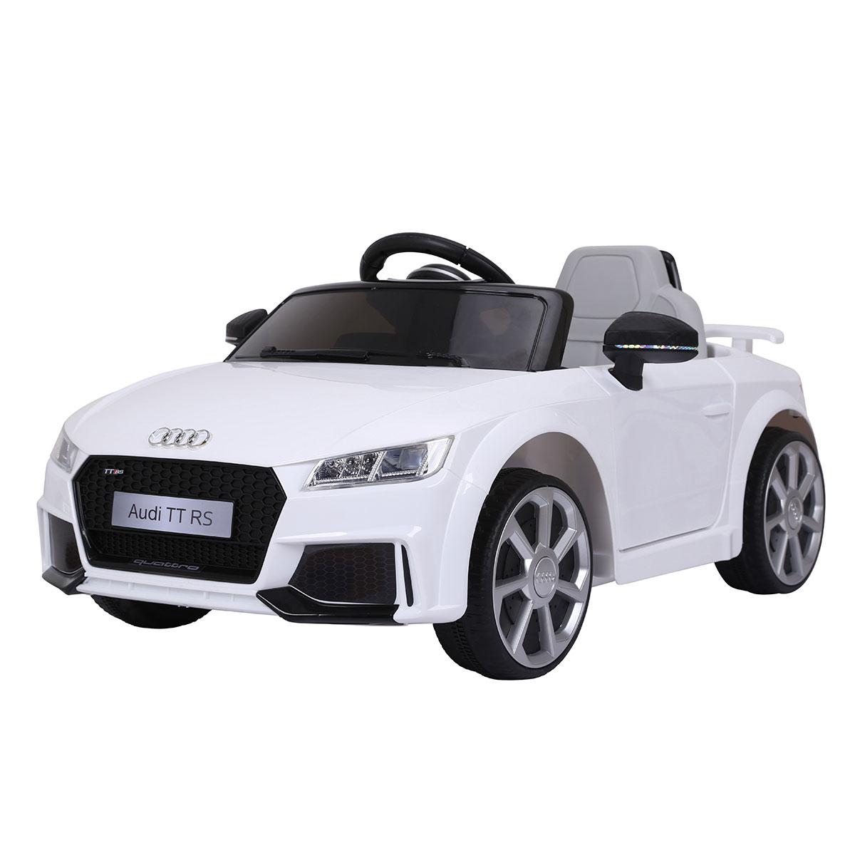Image of   Audi elbil - TT RS - Hvid