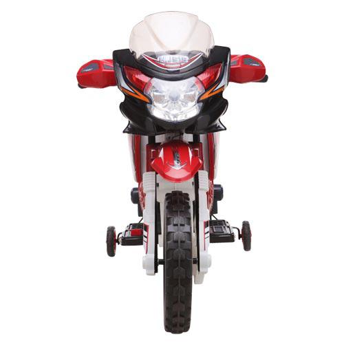 Image of   Azeno elmotorcykel - Supreme Cross - Rød/Hvid