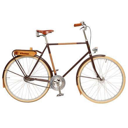 B'fair herrecykel med 2 gear - Brun | City-cykler