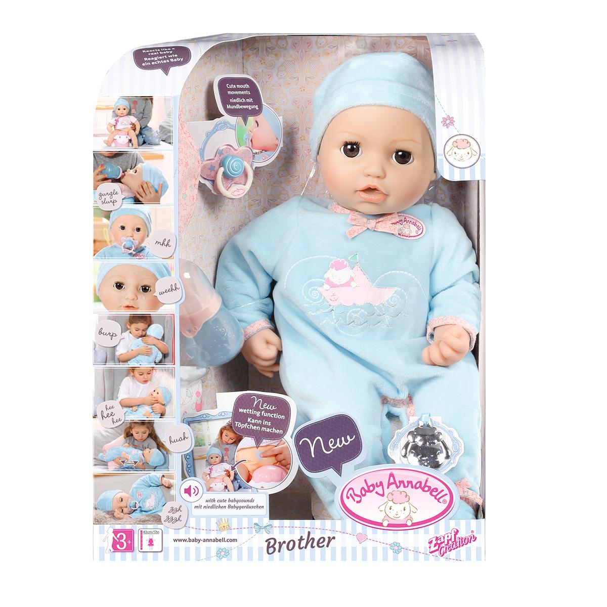 interaktiv dukke