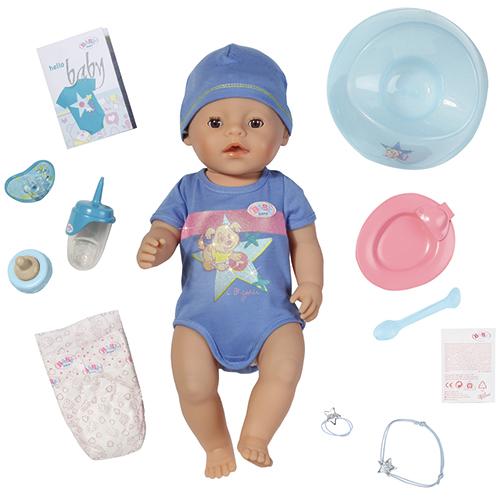Image of   BABY BORN interaktiv dukke - Dreng